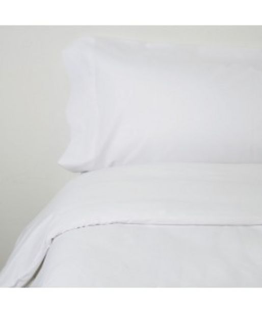Oferta de Funda nórdica algodon 2p blanco por 24,95€