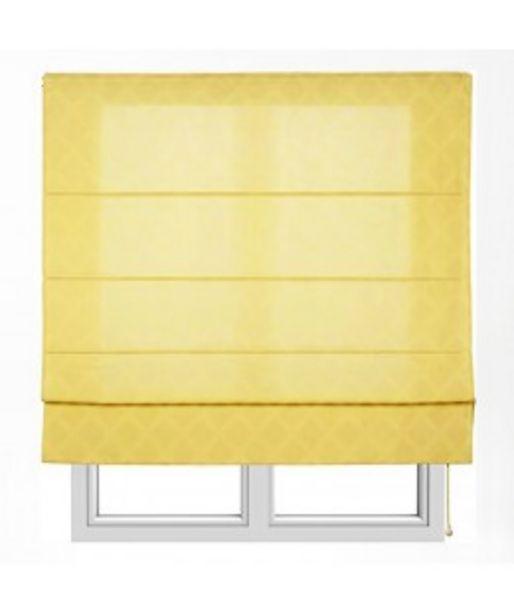 Oferta de Estor con varillas xaloc jacquard amarillo por 16,95€