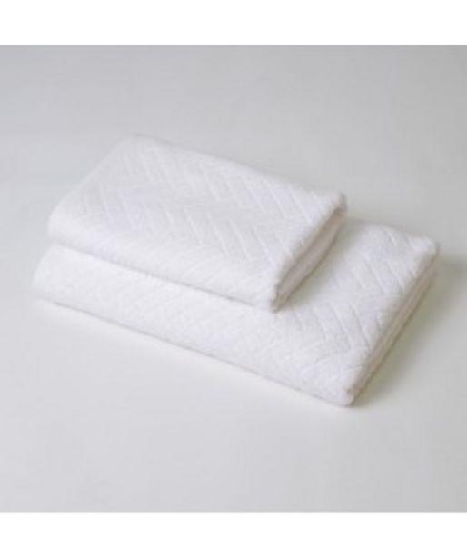Oferta de Juego de toallas 2p angie blanco por 14,9€