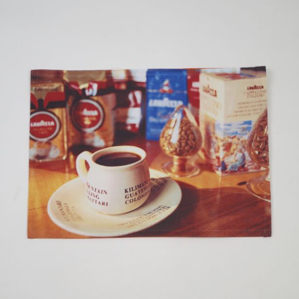 Oferta de Mantel individual foto taza... por 1,5€