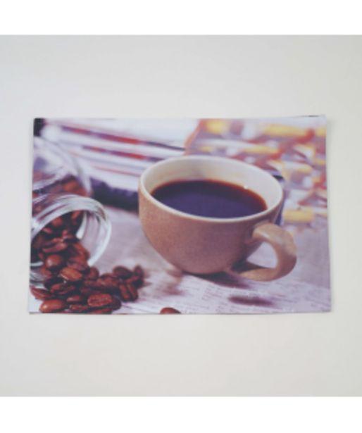 Oferta de Mantel individual foto taza cafe por 1,5€