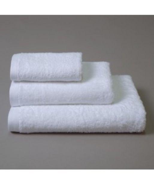 Oferta de Toalla algodón 847 blanco por 4,12€