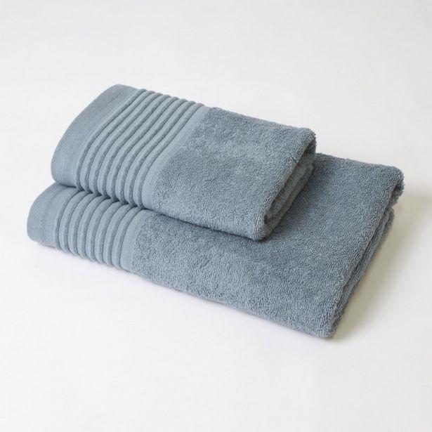 Oferta de Juego de toallas 2p kate verde por 14,9€