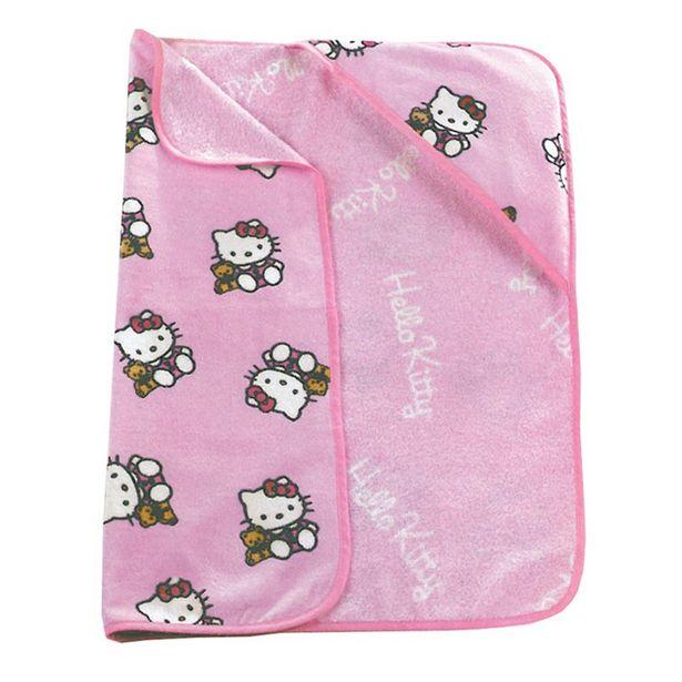 Oferta de Capa baño hello kitty rosa por 7,5€