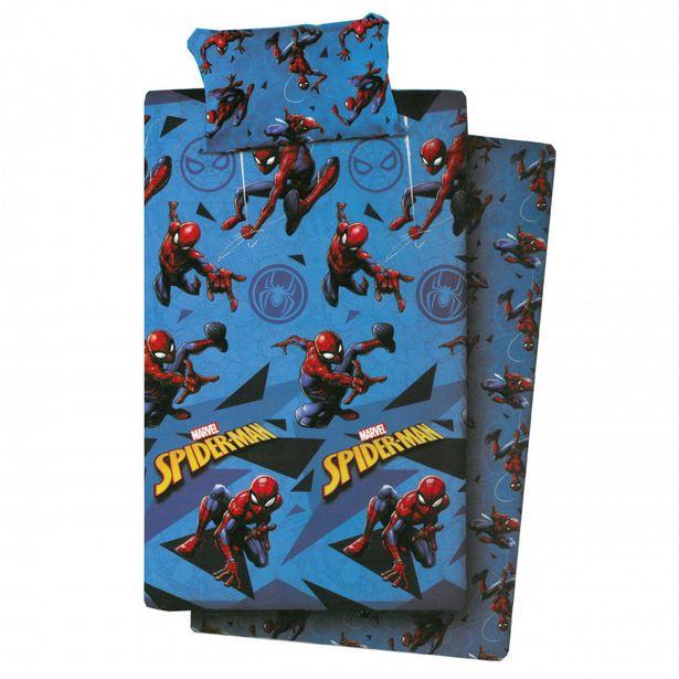 Oferta de Juego de sábanas spiderman 3p por 42,9€