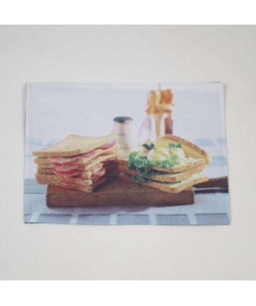 Oferta de Mantel individual foto sandwich por 1,5€