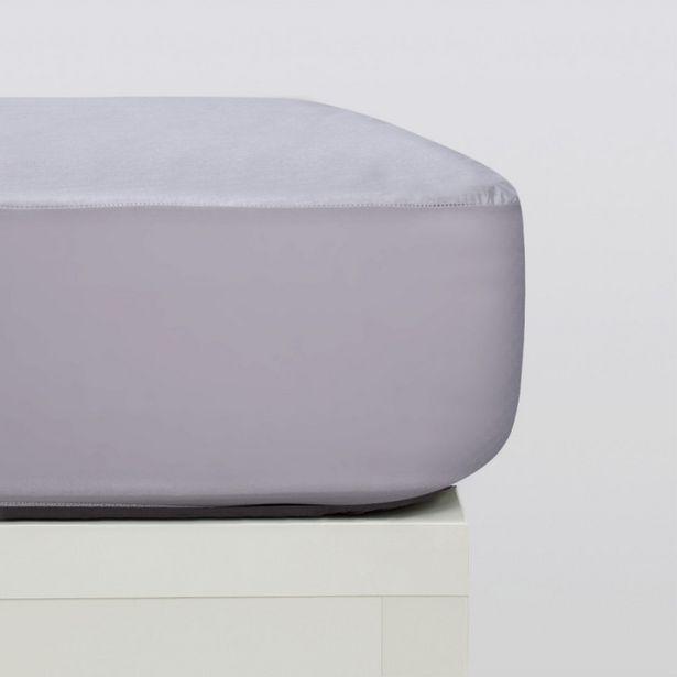 Oferta de Protector colchón tencel gris por 14,95€