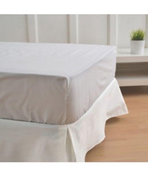 Oferta de Cubre canapé blanco roto por 14€