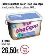 Oferta de Pintura monocapa Titan por 26,5€
