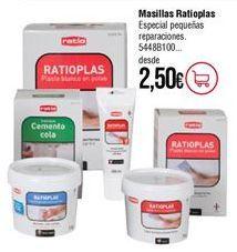 Oferta de Cemento Ratio por 2,5€