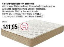 Oferta de Colchones por 141,95€