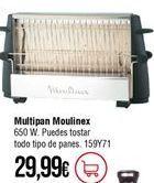 Oferta de Tostadora Moulinex por 29,99€