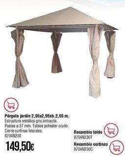 Oferta de Pérgola por 149,5€