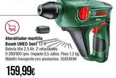 Oferta de Atornillador Bosch por 159,99€