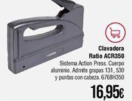Oferta de Clavadora Ratio por 16,95€