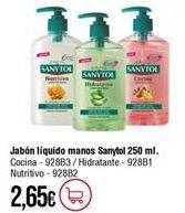 Oferta de Jabón Sanytol por 2,65€