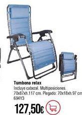 Oferta de Sillón relax por 127,5€