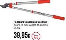 Oferta de Tijeras de poda por 39,95€