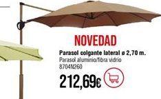 Oferta de Parasol por 212,69€
