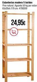 Oferta de Estanterías por 24,95€