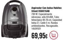 Oferta de Aspirador Habitex por 69,95€