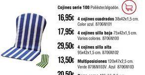 Oferta de Cojines por 16,95€