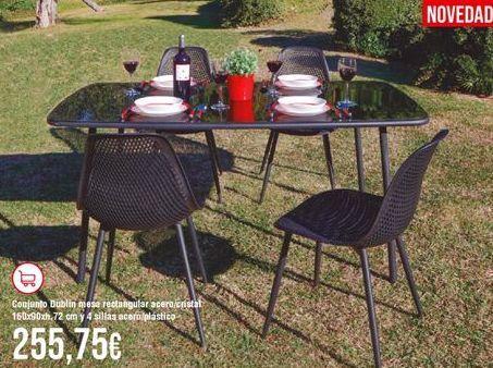 Oferta de Conjunto de jardín por 255,75€