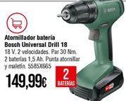 Oferta de Taladro a batería Bosch por 149,99€