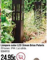 Oferta de Lámpara solar por 24,95€