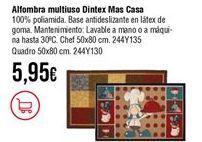 Oferta de Alfombras por 5,95€