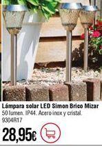 Oferta de Lámpara solar por 28,95€