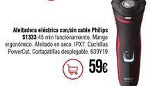 Oferta de Afeitadora Philips por 59€