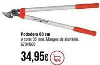 Oferta de Tijeras de poda por 34,95€
