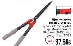 Oferta de Tijeras cortasetos por 37,6€