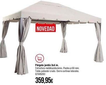 Oferta de Pérgola por 359,95€