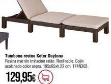 Oferta de Tumbonas por 129,95€
