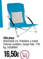 Oferta de Silla de playa por 16,5€