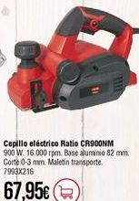 Oferta de Cepillo eléctrico Ratio por 67,95€