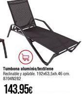 Oferta de Tumbonas por 143,95€