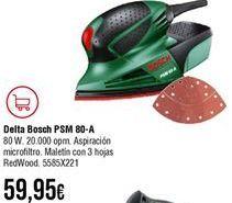 Oferta de Lijadora Bosch por 59,95€