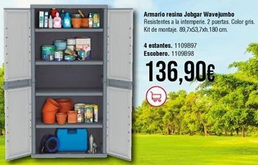 Oferta de Armarios por 136,9€