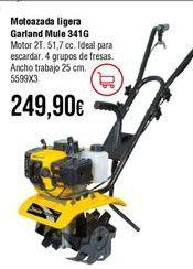 Oferta de Motoazada Garland por 249,9€