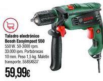 Oferta de Taladro eléctrico Bosch por 59,99€