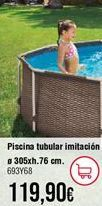 Oferta de Piscina tubular por 119,9€