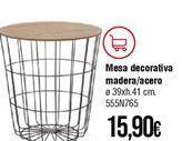Oferta de Mesa auxiliar por 15,9€