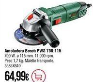 Oferta de Amoladora Bosch por 64,99€