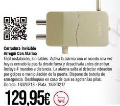 Oferta de Cerradura por 129,95€