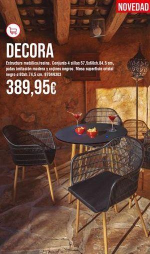 Oferta de Conjunto de jardín por 389,95€