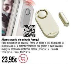 Oferta de Alarma Arregui por 23,95€