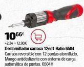 Oferta de Destornillador por 10,66€